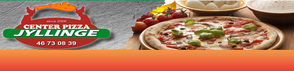 Jyllinge Center Pizza Bundbanner